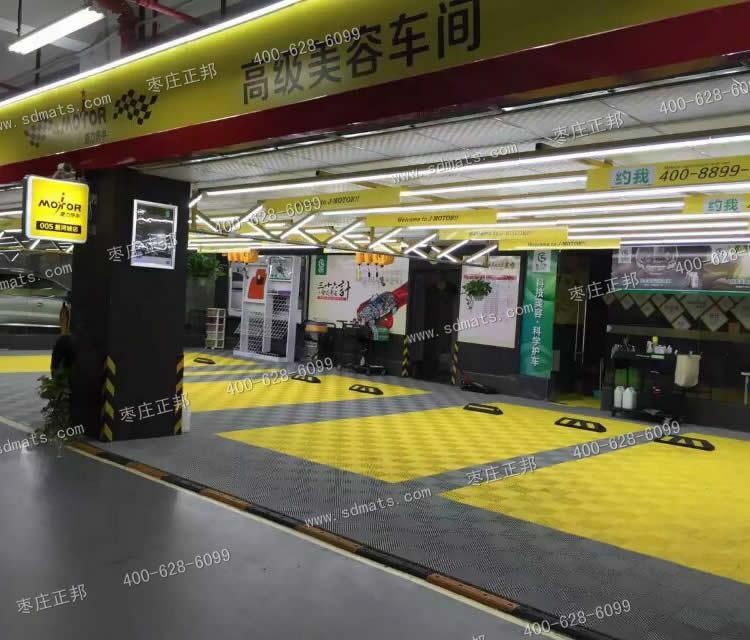 motor高级汽车美容店装修效果图 洗车房装修必看