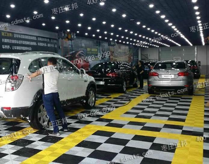 com         20平方汽车美容店无尘贴膜车间装修效果